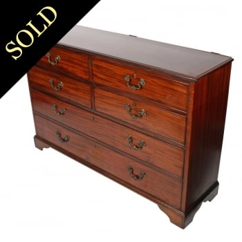 18th Century Mahogany Hall Chest