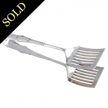 Sterling Silver Serving Tongs