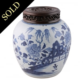 19th Century Chinese Ginger Jar