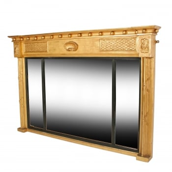 Regency Overmantel Gilt Mirror SOLD