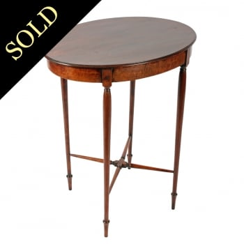 Georgian Oval Occasional Table