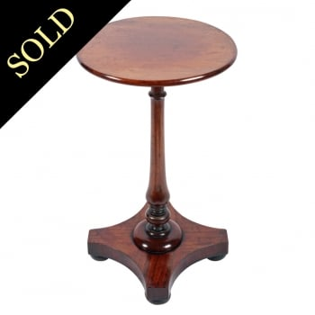 George IV Mahogany Kettle Stand