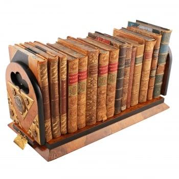 Pollard Oak Betjemann's Patent Book Slide SOLD