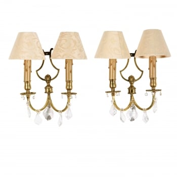 Pair of Edwardian Wall Lights