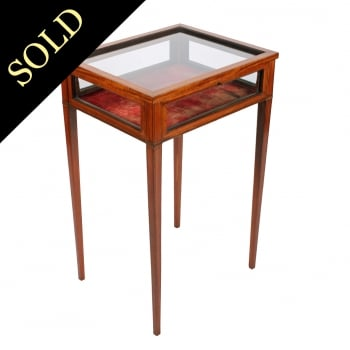 Edwardian Satinwood Bijouterie Table