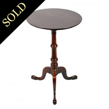 Georgian Tip Top Tripod Table