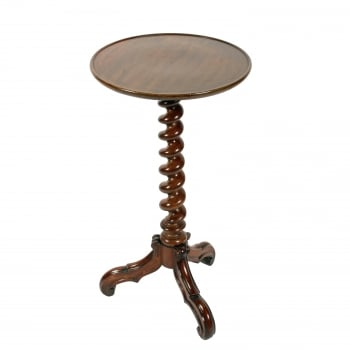 Victorian Dish Top Lamp Stand SOLD