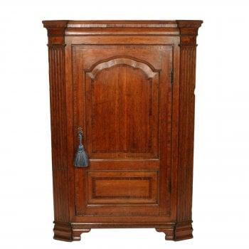 18th Century Oak Corner Cabinet SOLD