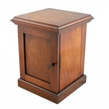 Miniature Mahogany Collector's Cabinet