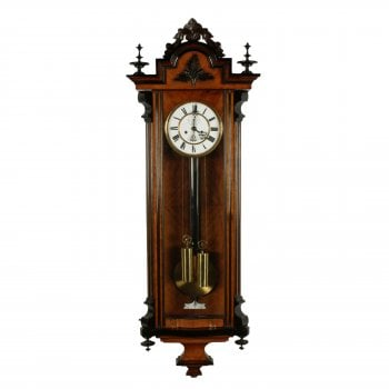 19th Century Vienna Wall Clock