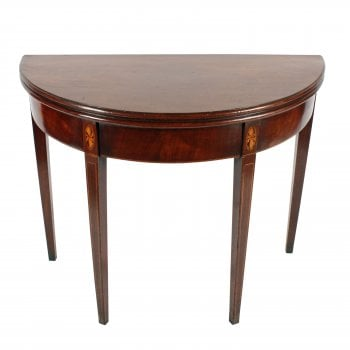 Georgian Demi-Lune Tea Table SOLD