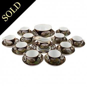 New Hall Porcelain Tea Ware