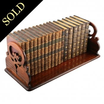 Victorian Rosewood Book Stand