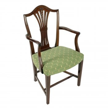 Georgian Hepplewhite Elbow Chair