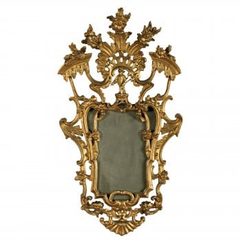 18th Century Style Giltwood Wall Mirror
