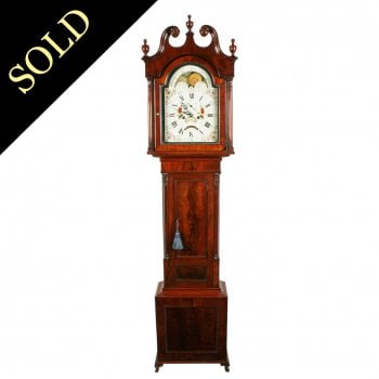 Rolling Moon Dial Grandfather Clock