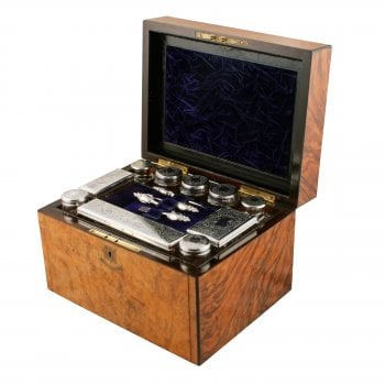 Victorian Jewellery & Dressing Box