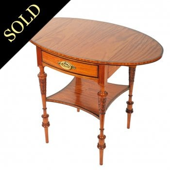 Exhibition Quality Satinwood Pembroke Table