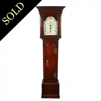 18th Century 30 Hour Grandfather Clock