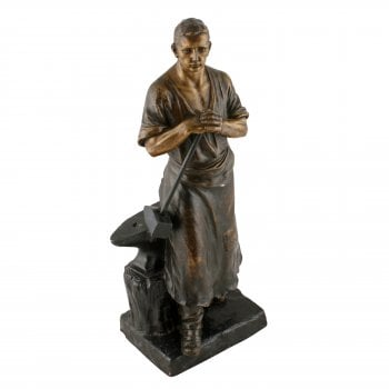 Terracotta Figure of a Blacksmith