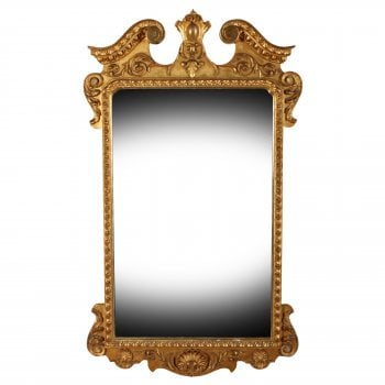 George II Style Gilt Wall Mirror SOLD
