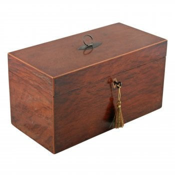 Georgian Partridge Wood Tea Caddy