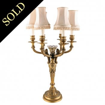 Gagneau of Paris Six Branch Candelabra