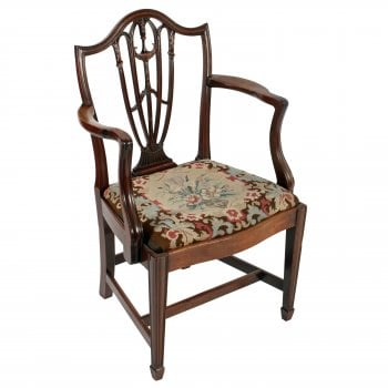 18th Century Hepplewhite Elbow Chair