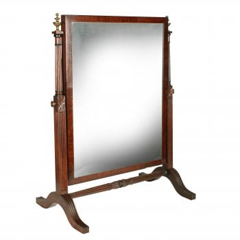 Georgian Dressing Mirror Attributed to Gillows