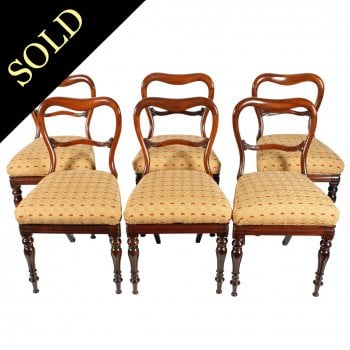 Set of Six William IV Chairs
