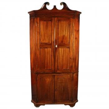 Georgian Double Corner Cupboard