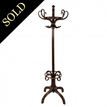 Continental Bentwood Hat Stand