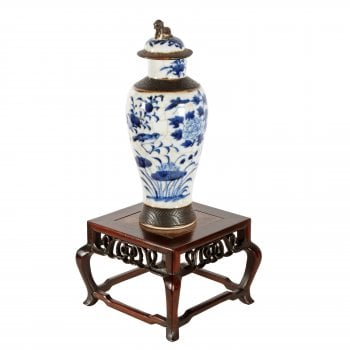 Small Chinese Vase Stand