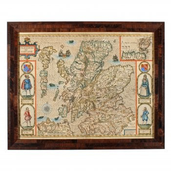 John Speed 'The Kingdome of Scotland' Map