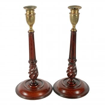 Pair of 18th Century Style Candlesticks
