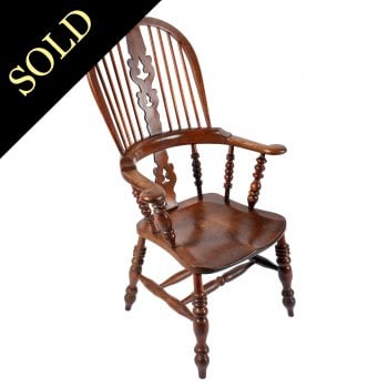 Broad Arm Windsor Chair
