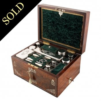 Victorian Jewellery Dressing Box