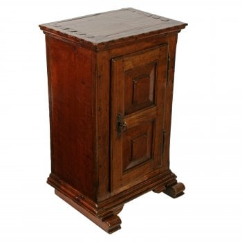 Italian Walnut Side Cabinet