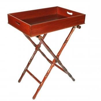 Mahogany Butler's Tray & Stand
