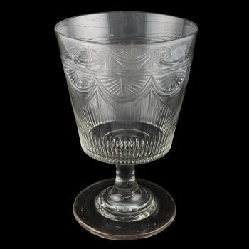 Large Georgian Glass Rummer