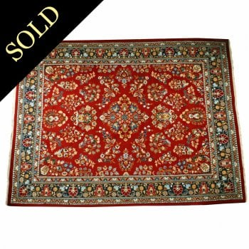 Large 20th Century Heriz Persian Carpet