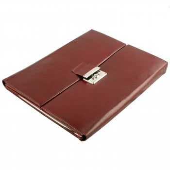 Leather Desk Correspondence Case
