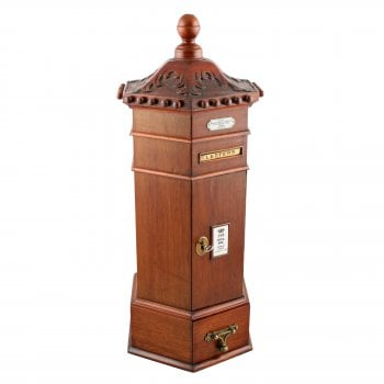 Victorian Style Table Top Letter Box