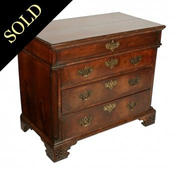 George II Walnut Chest of Drawers