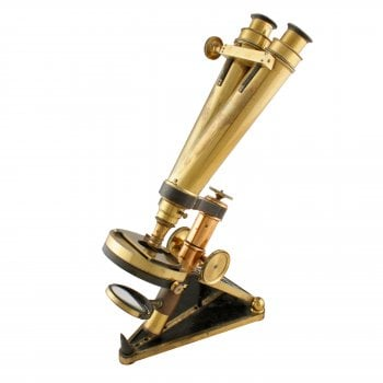 Microscope by R & J Beck London SOLD