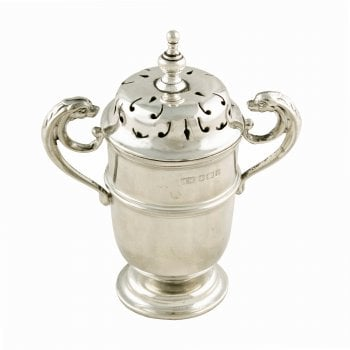 Victorian Sterling Silver Pepper Pot