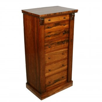 Regency Rosewood Wellington Chest SOLD