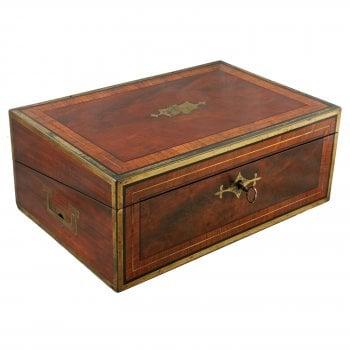Georgian Writing Box by Hicks of London