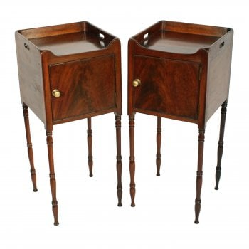 Pair of Georgian Bedside Cabinets