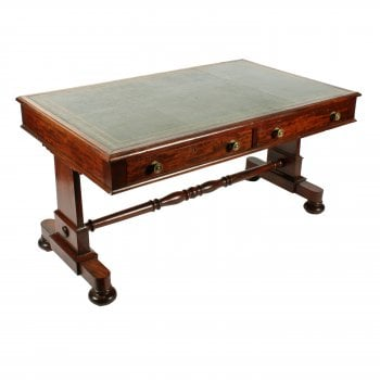 George IV Mahogany Writing Table SOLD